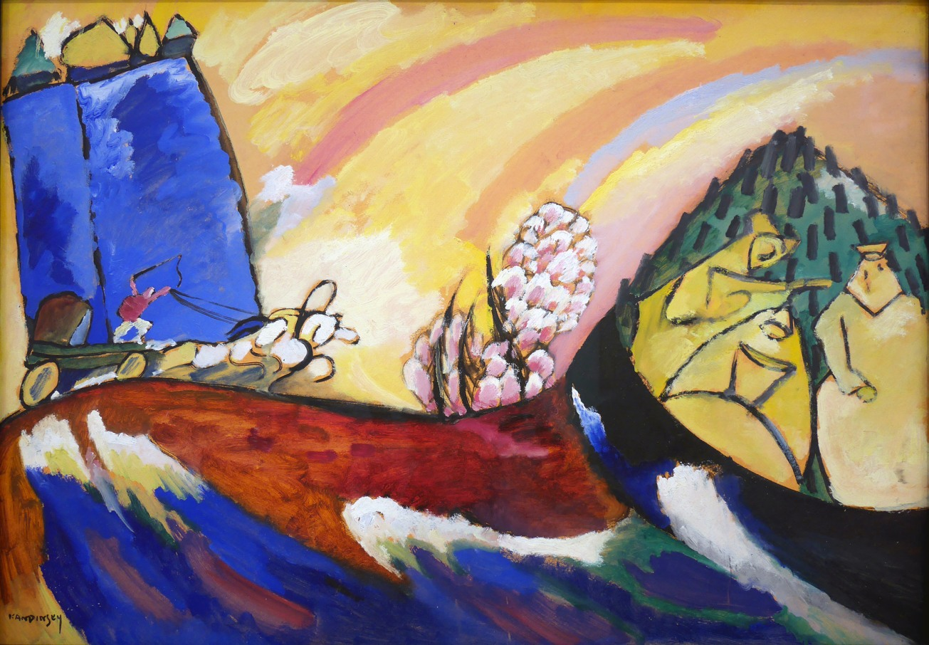 10_Vassily Kandinsky, Dipinto con troika, 1911